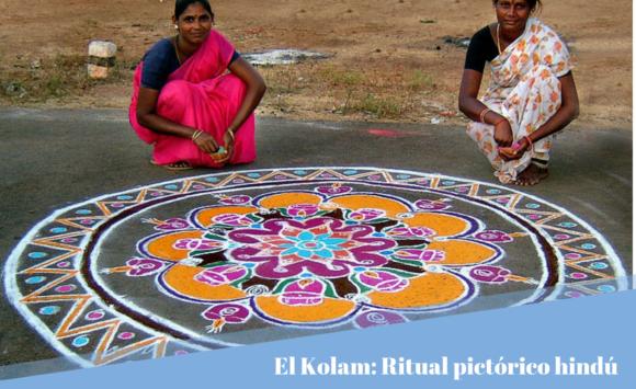 El Kolam: ritual pictórico hindú